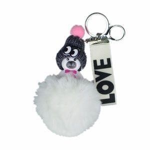 Accessories - NEW Cute Bear Pom Pom Handbag Charm / Keychain